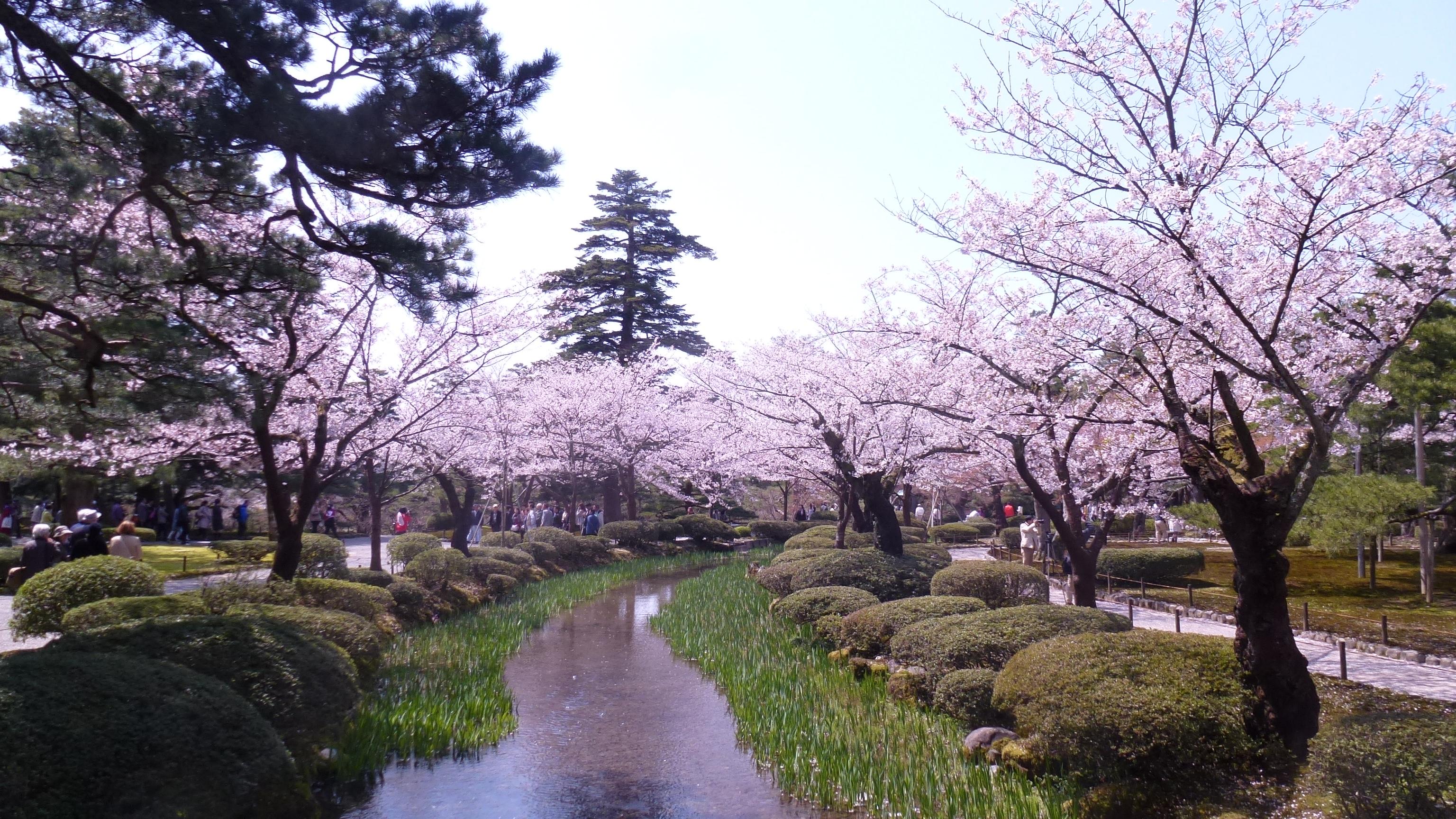 Kenrokuen 3 mois au japon for Jardin kenrokuen