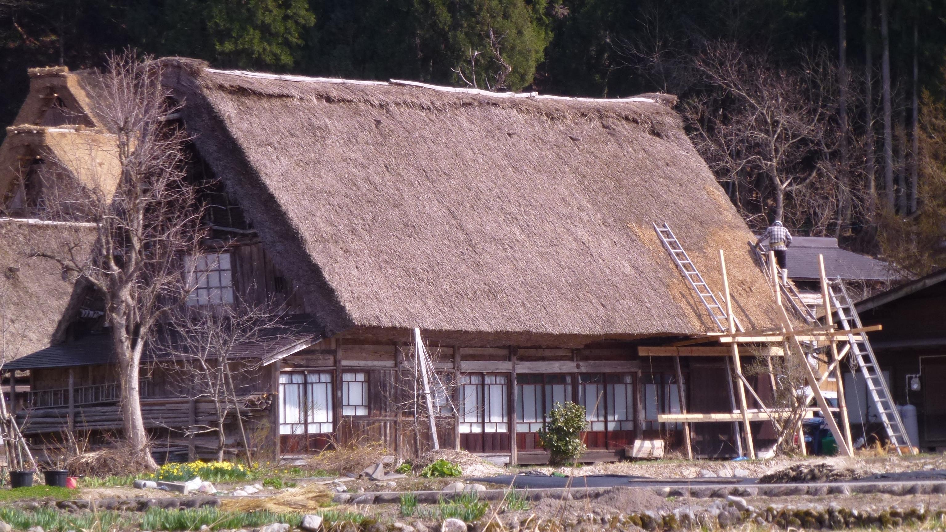 Shirakawa go 3 mois au japon for Entretien d une maison