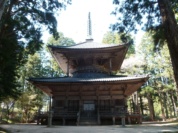 Le Saito, 27 mètres de haut.