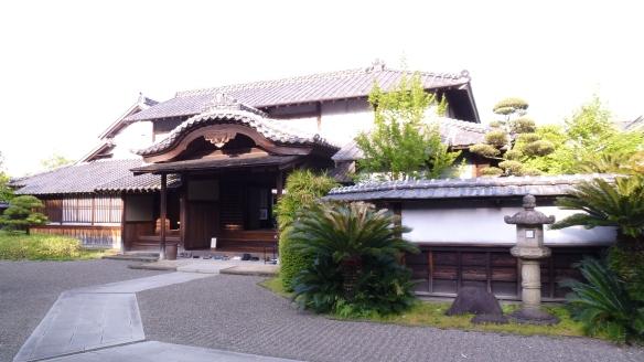 L'entrée principale de la maison, où à l'époque seuls les personnages importants pouvaient passer.