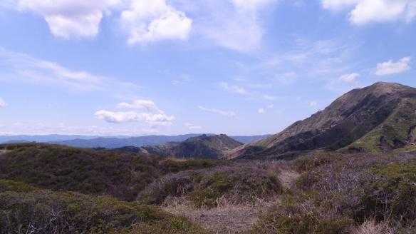 Le paysage environnant. Et à environ 1350m d'altitude, il faisait nettement plus froid qu'à Kumamoto.