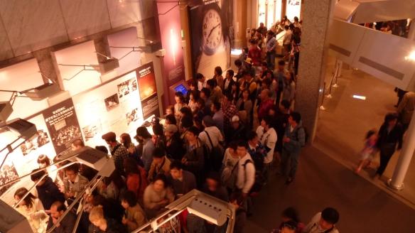Le Musée de la Paix pendant la Golden Week: un beau bain de foule... A éviter si vous pouvez!