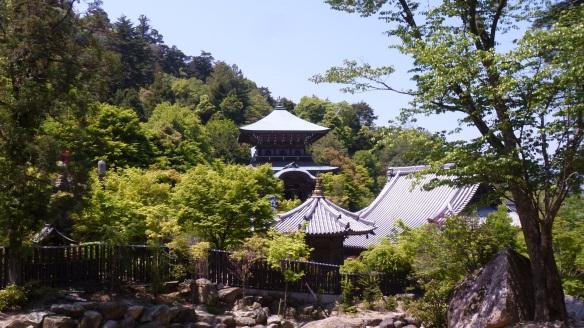Le temple de Daishoin, sur le chemin du retour.