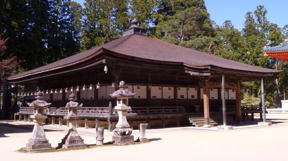 Le Miedo était utilisé comme temple bouddhiste personnel et lieu d'exercice de Kobo-Daishi. L'édifice actuel date de 1847.