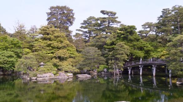 Un des jardins impériaux.